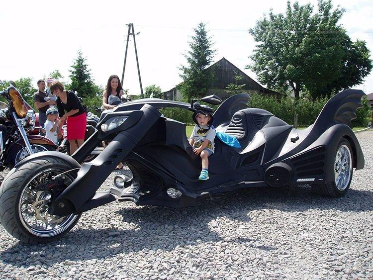 трёхколесный мотоцикл фото
