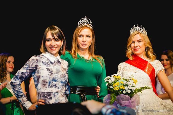 Победительница конкурса «Миссис Россия-2015» - Екатерина Кирмель,мама шестерых детей