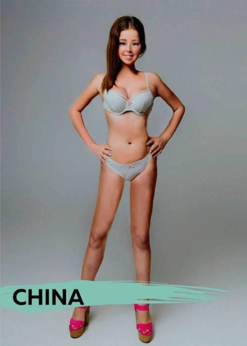 Идеалы женской красоты разных стран мира