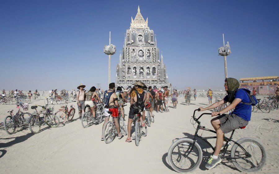 Фестиваль «Burning Man» 2015 (55 фото)