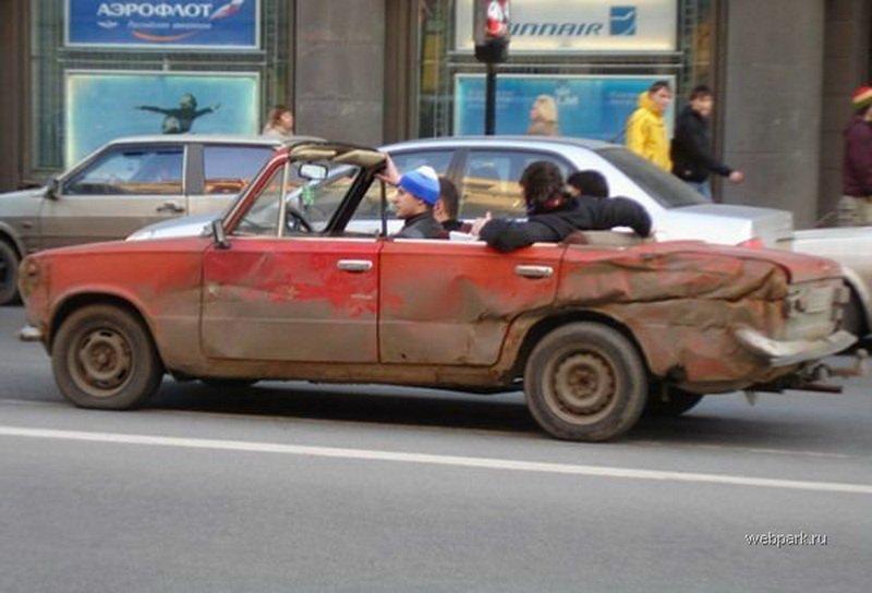 картинки, фото приколы, видео приколы ...: www.rulez-t.info/auto/31598-prikolnye-mashiny-75-foto.html