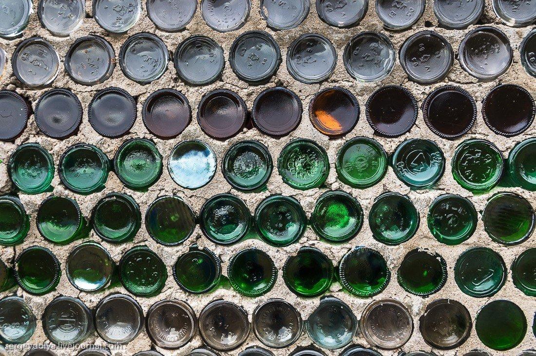 Из стеклянных бутылок картинки
