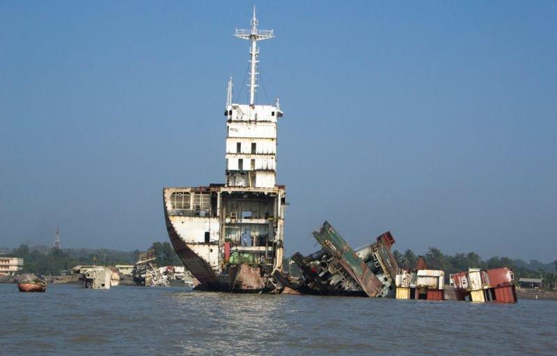 фото аварии судов