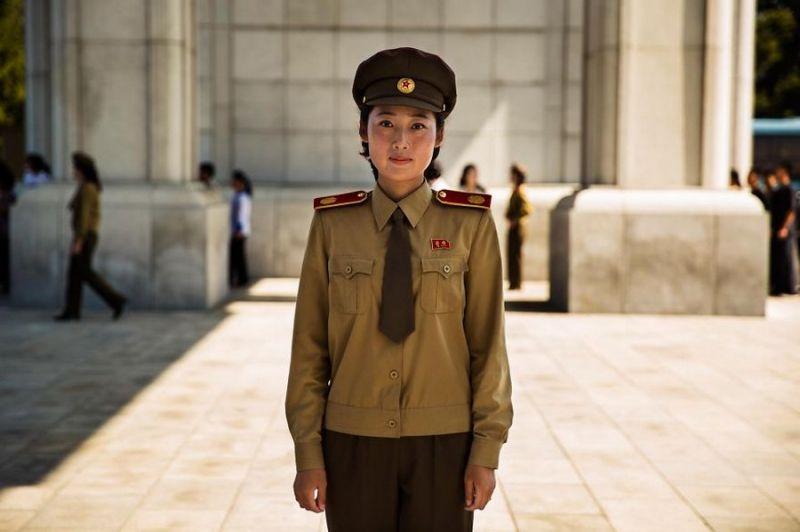 Девушки Северной Кореи от фотографа Mihaela Noroc для проекта ''The Atlas Of Beauty''