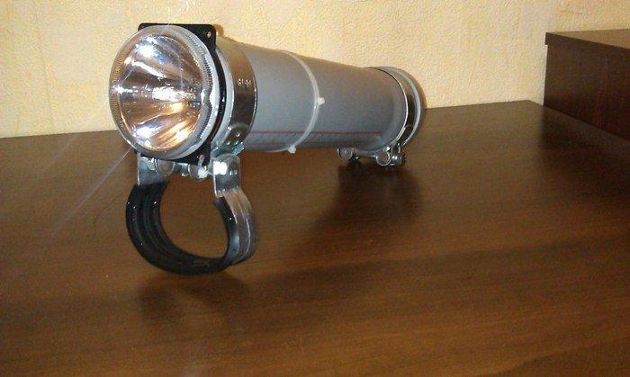Подводные фонарь своими руками