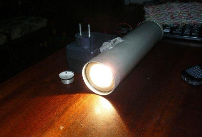 Светодиодный подводный фонарь своими руками 142