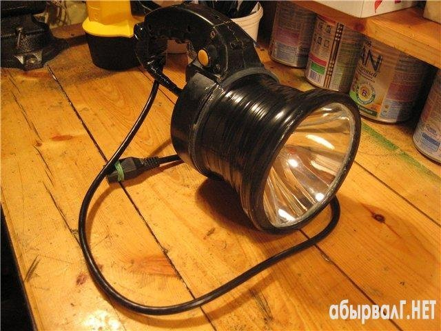 сделать самому фонарь для рыбалки