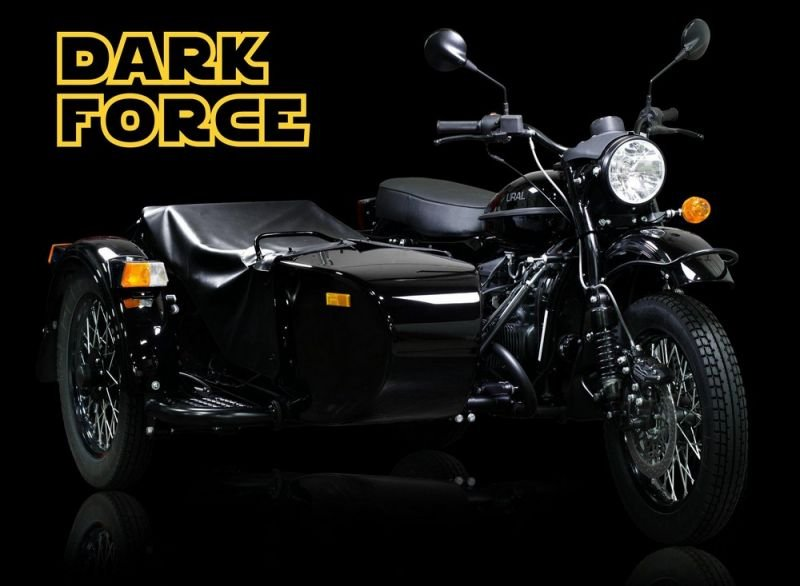 Мотоцикл Урал Dark Force за 15000$ (4 фото)