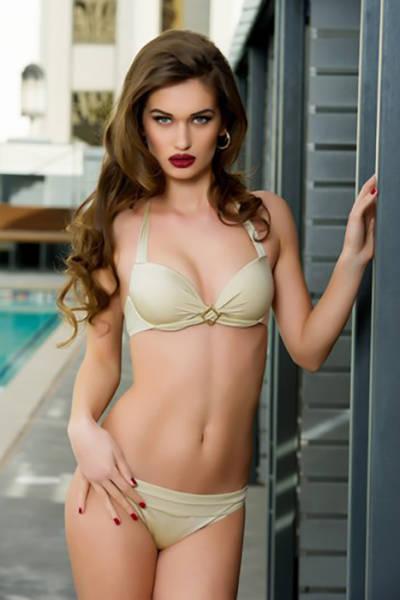 Участницы конкурса «Мисс Вселенная-2015» в бикини