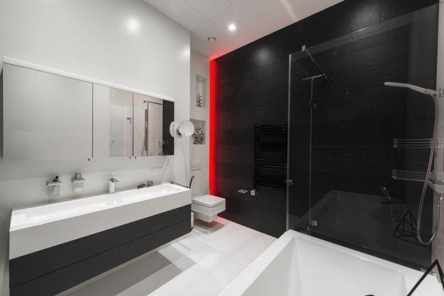 Bathroom red light