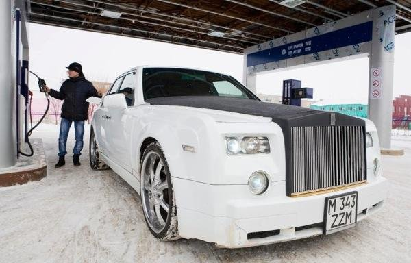 Руслан Муканов создал свой собственный «Rolls-Royce Phantom»