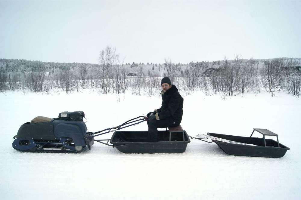 Мотособака для зимней рыбалки