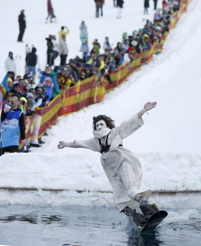 Red Bull Jump and Freeze Competition в Грузии