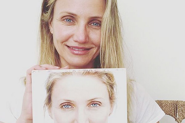 Кэмерон Диас опубликовала селфи без макияжа