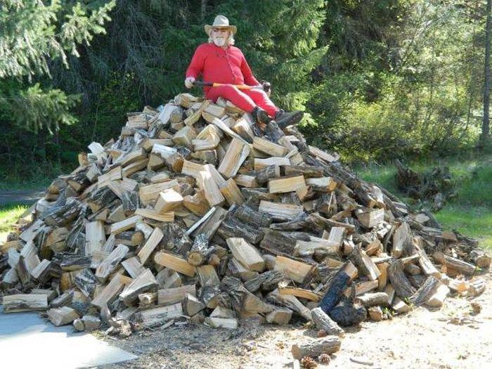 Открытка новый, прикол картинки с дровами