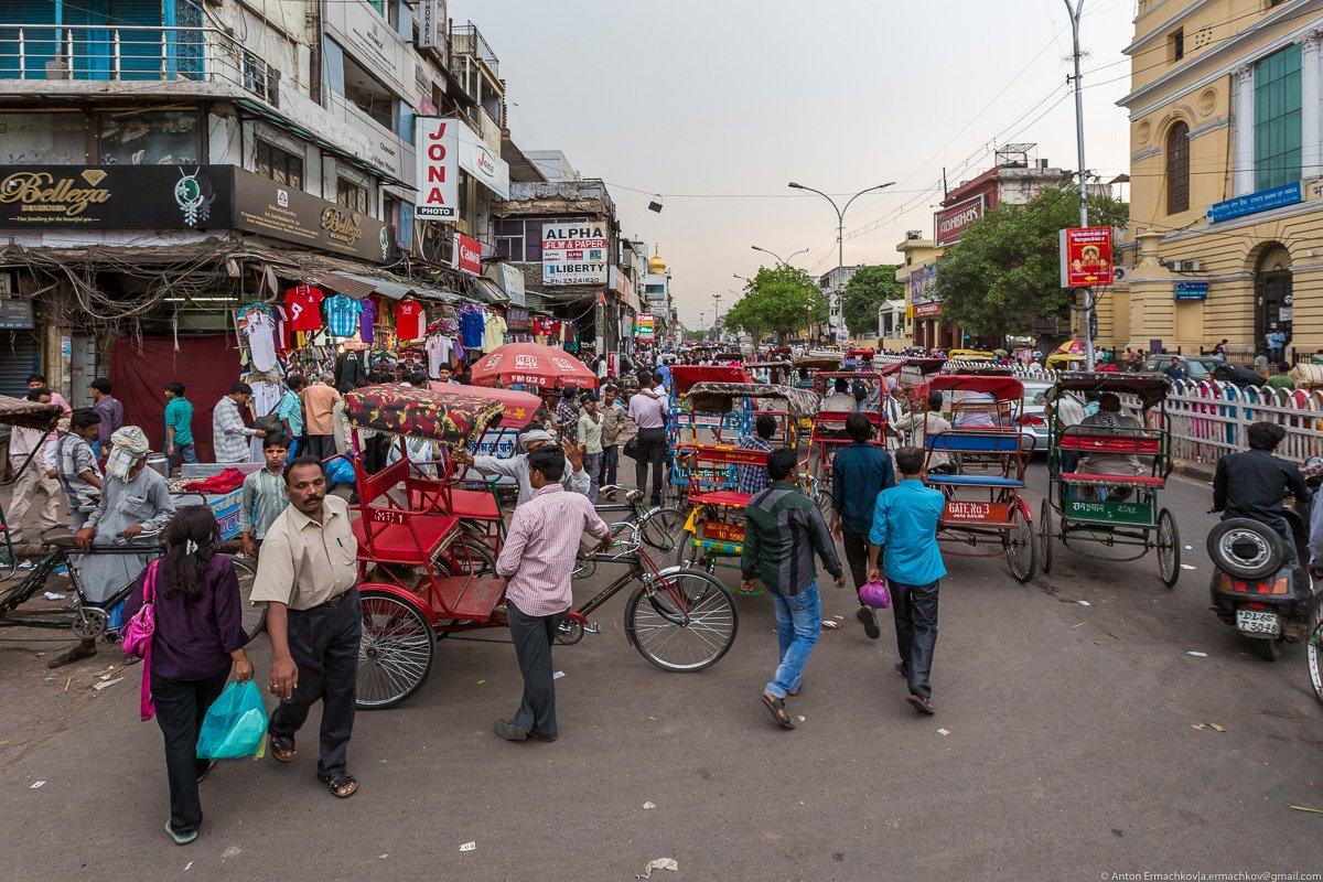 Улицы дели фото