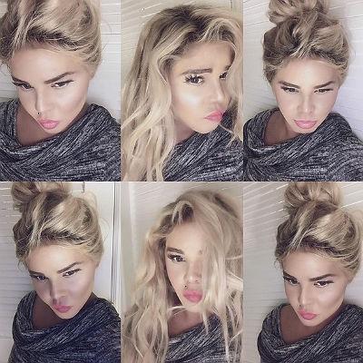 Новая внешность Лил Ким