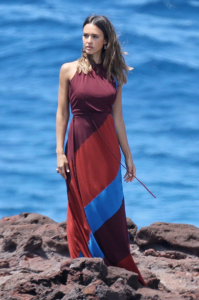 Джессика Альба на Гавайях