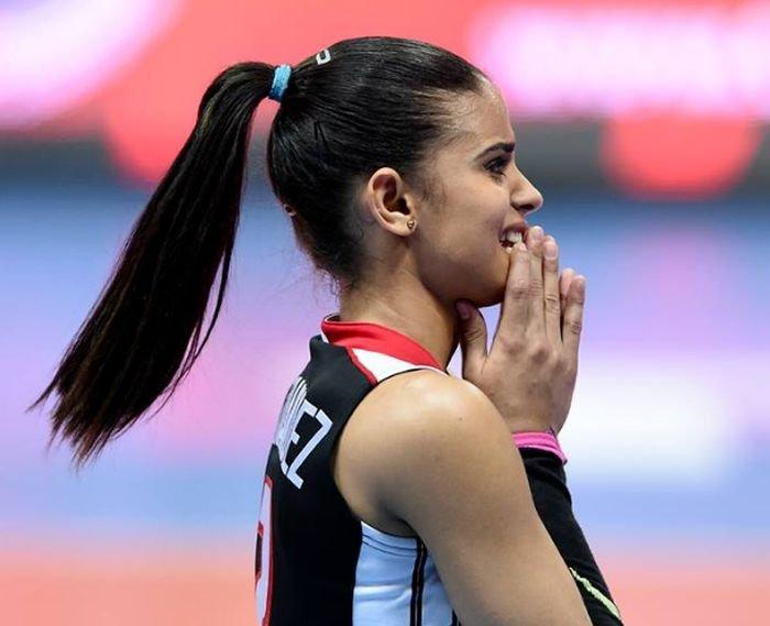 Доминиканская волейболистка стала новой звездой сети