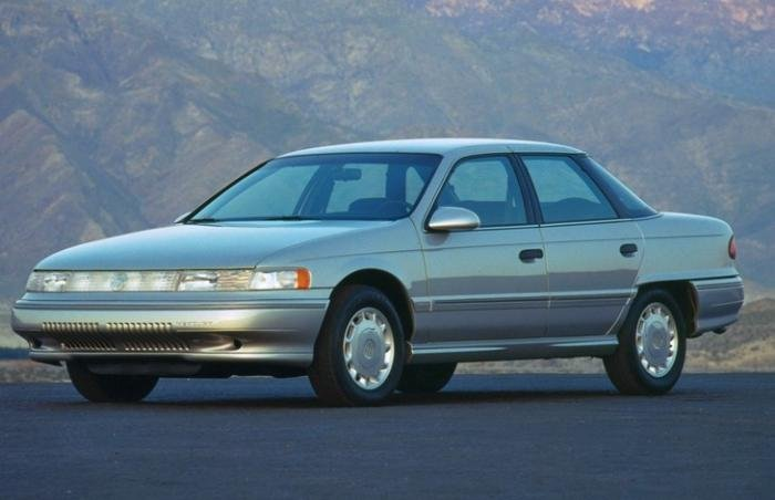 Mercury Sable, сарай для нас, а для американцев не большой автомобиль
