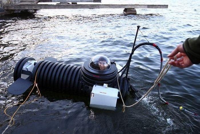 Подводная лодка своими руками погружаемая в воду для детей 40