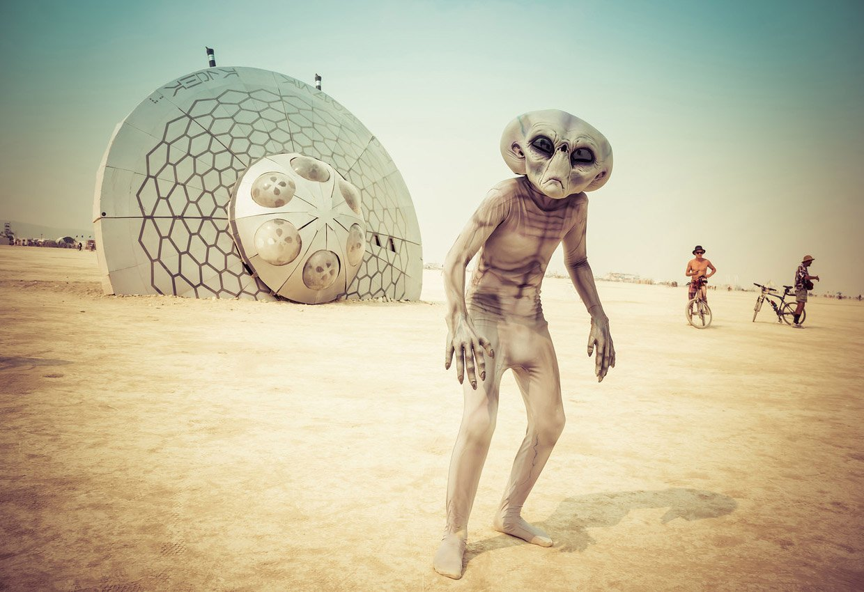 Фестиваль Burning Man-2016