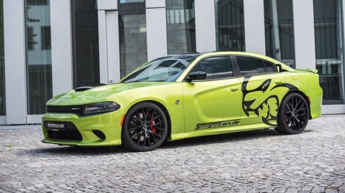 Немцы построили 782-сильный Dodge Charger SRT Hellcat