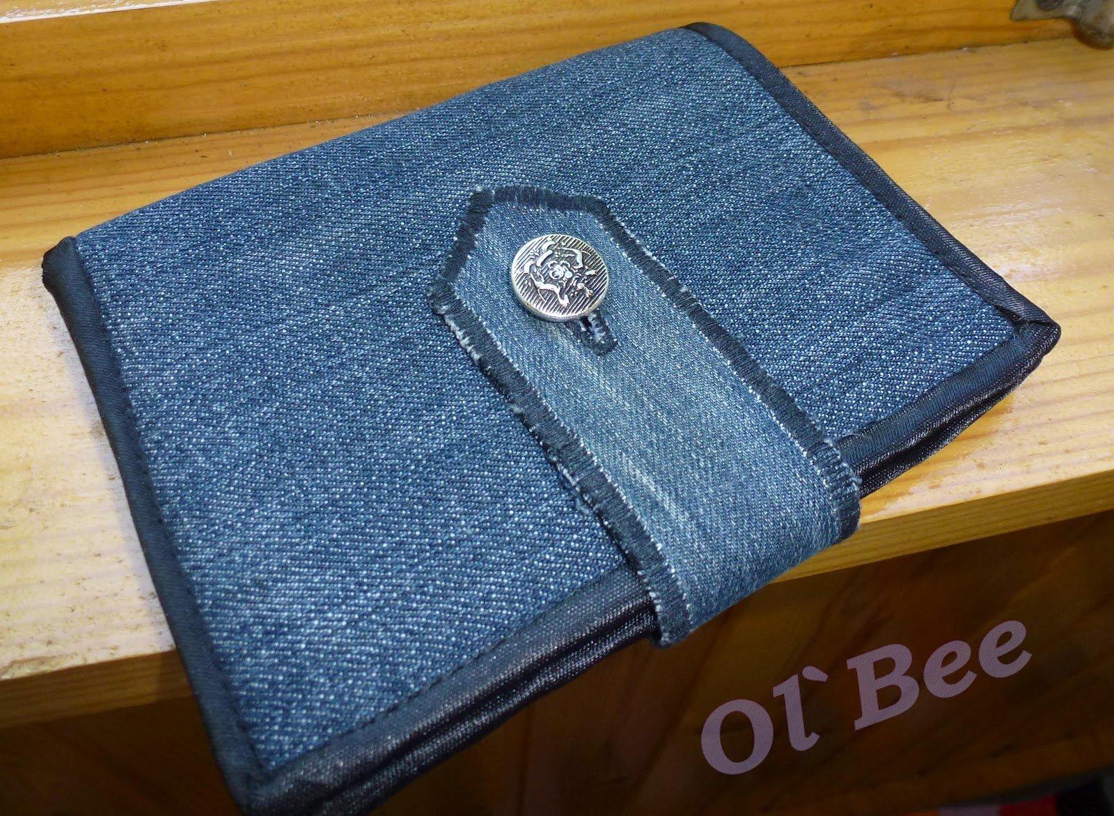 Кошелек своими руками из джинсовой ткани фото