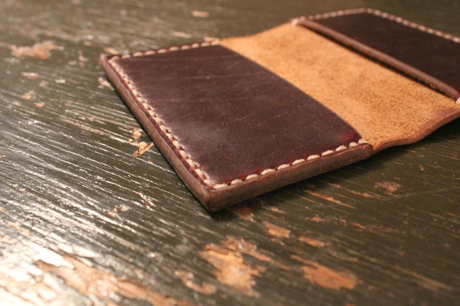 Бумажники мужские кожаные своими руками