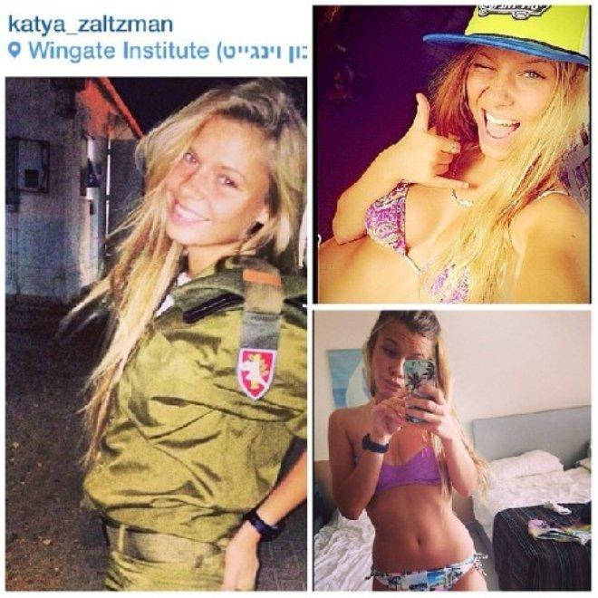 Девушки Красотки военнослужащие Израиля