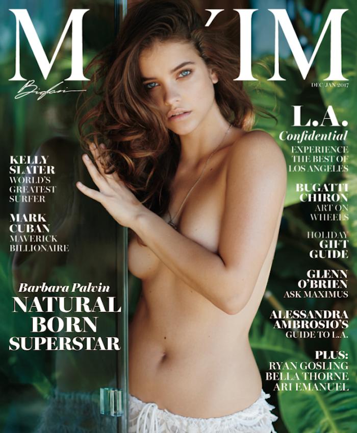 Барбара Палвин снялась для журнала Maxim