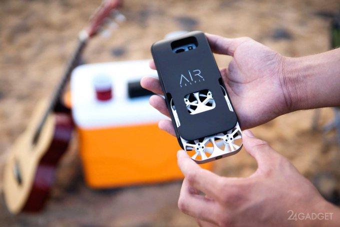 AirSelfie — неразлучный со смартфоном селфи-дрон