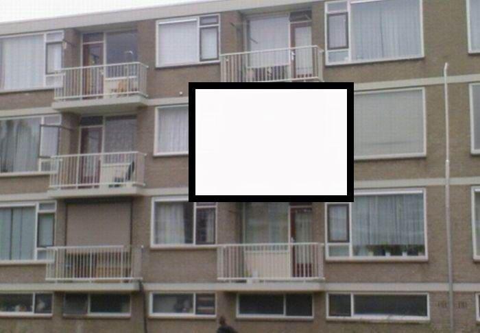 Обычный голландский балкон