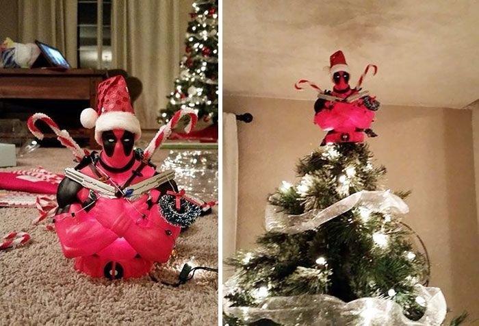 Креативные новогодние ёлки (26 фото)
