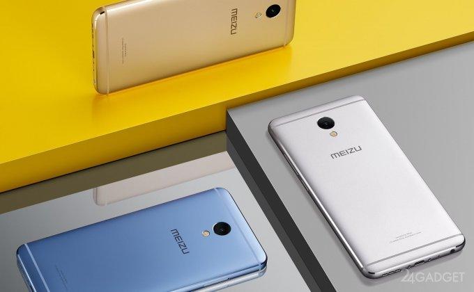 Представлен доступный фаблет из металла Meizu M5 Note