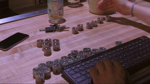 Zooids: крошечные роботы для рабочего стола