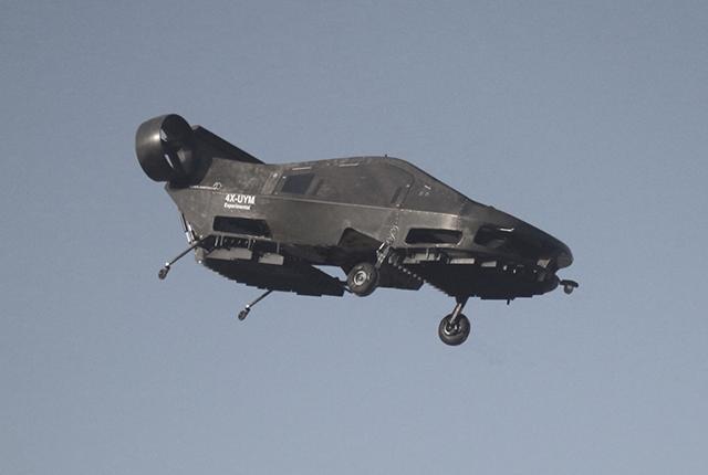 Летающий автомобиль Cormorant UAV может эвакуировать людей Дистанционно