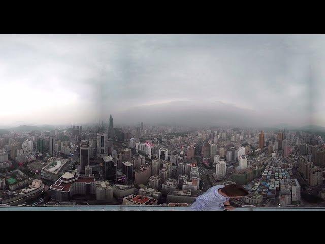Руферы забрались на китайскую вышку, впечатляет !!! обзор 360 градусов