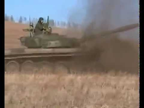 Крутой разворот на танке