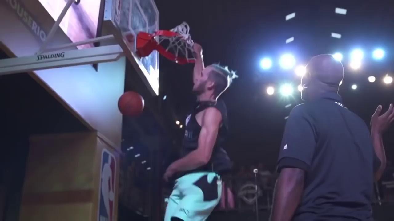 Баскетболист-любитель против профессионала!