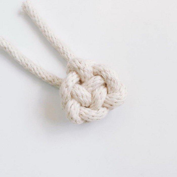 Красота узлов из веревок - проект Windy Chien