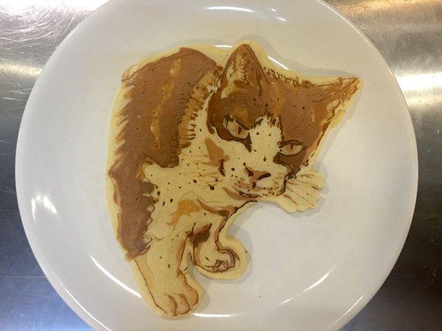 Художественные блины с изображениями животных от шеф-повара Кеисуке Инагаки