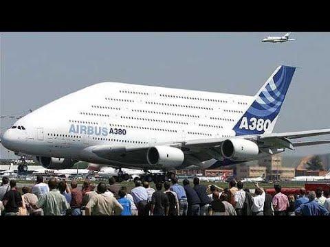 САМЫЙ БОЛЬШОЙ пассажирский САМОЛЕТ в МИРЕ !!! Airbus A380