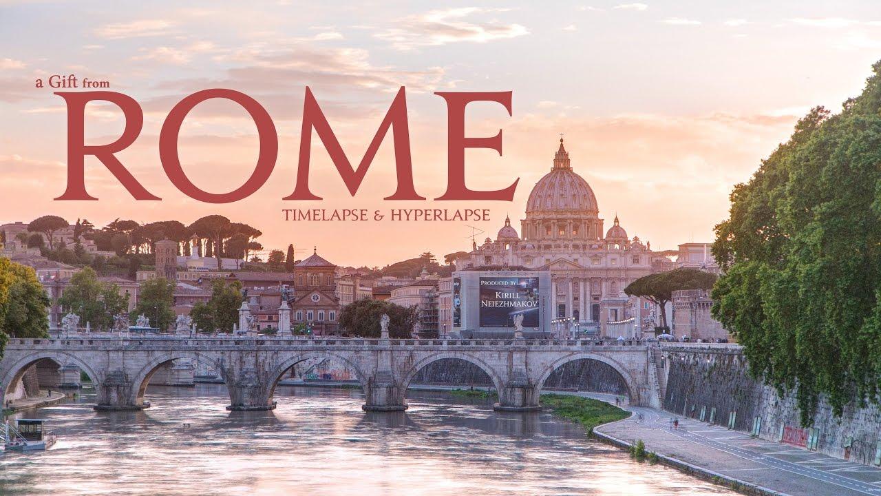 Подарок из Рима. Новый ролик в Timelapse из Италии!