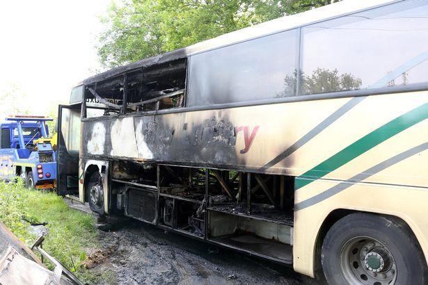Школьник спас одноклассников из горящего автобуса