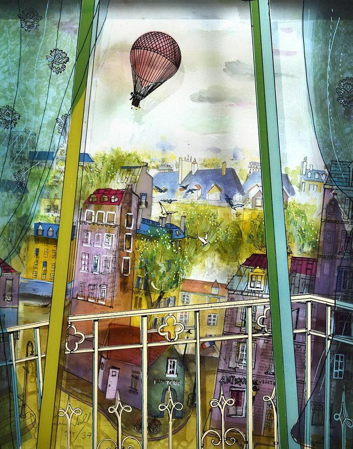 Картины на стекле Jean-Pierre Weill
