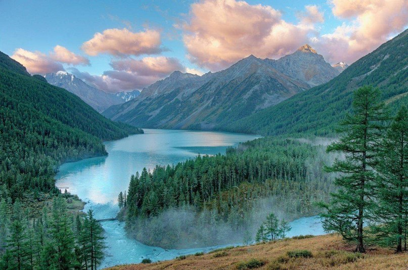 Кучерлинское озеро, Алтай