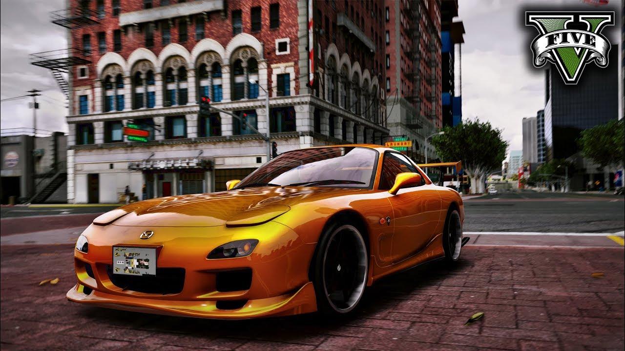 GTA 5 от такой красоты в графике даже видео тормозит