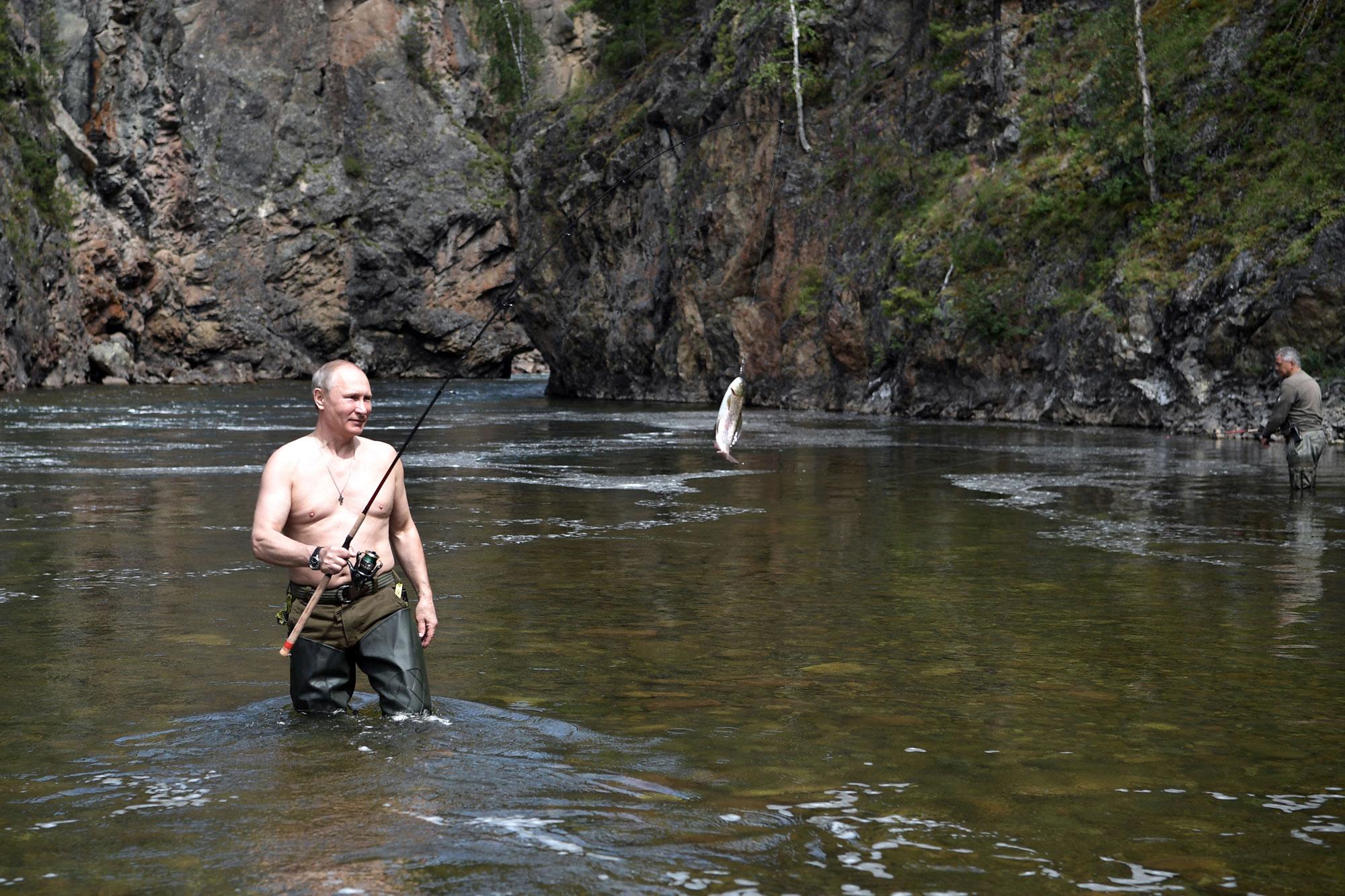 рыбалка в туве туризм