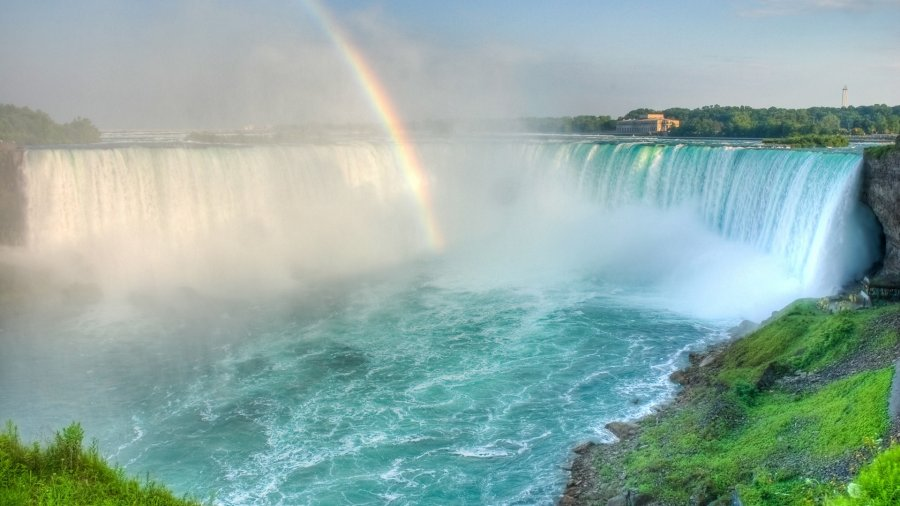 Как ремонтировали Ниагарский водопад
